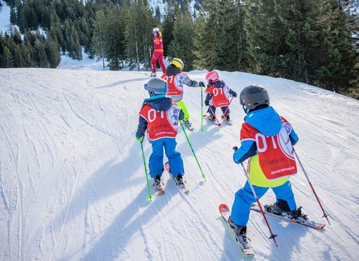 Kindergruppe Skikurs